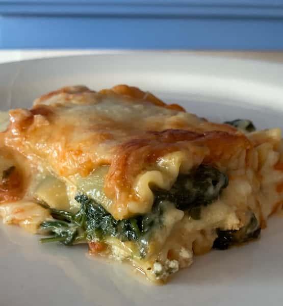 SPECIALspinach lasagna