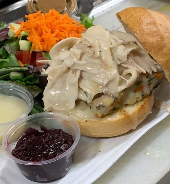 thanksgiving on a bun