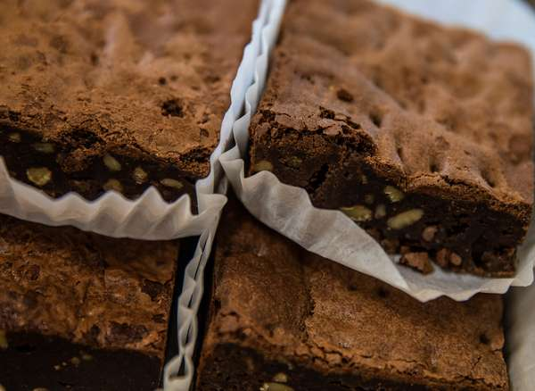 Brownie with Walnuts