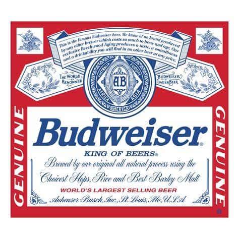 Budweiser - Anheuser - Busch - Lager
