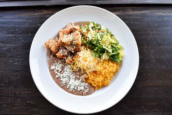 Sesame Chicken Bowl/Burrito