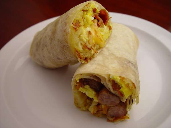 21. Breakfast Burrito