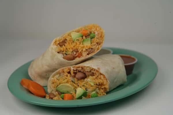 16V. Rodeos Veggie Burrito