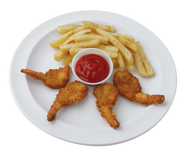 Jr. Shrimp Plate