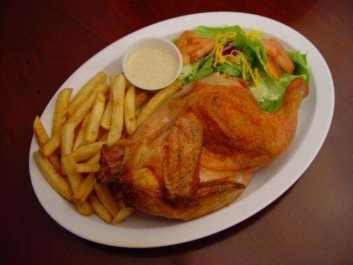 Pollo Asado - With Fries and Salad