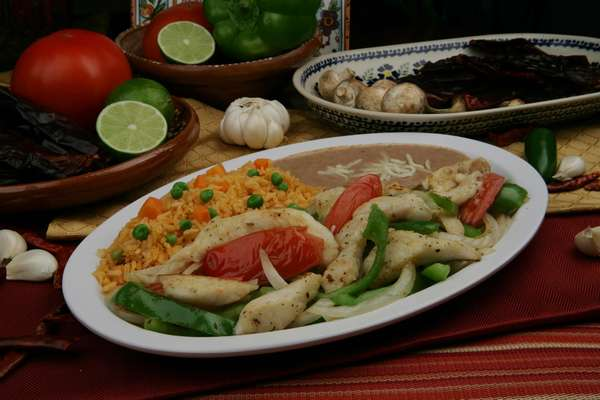 Fish Fajitas