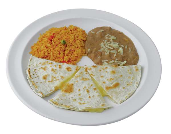 Jr. Quesadilla Plate