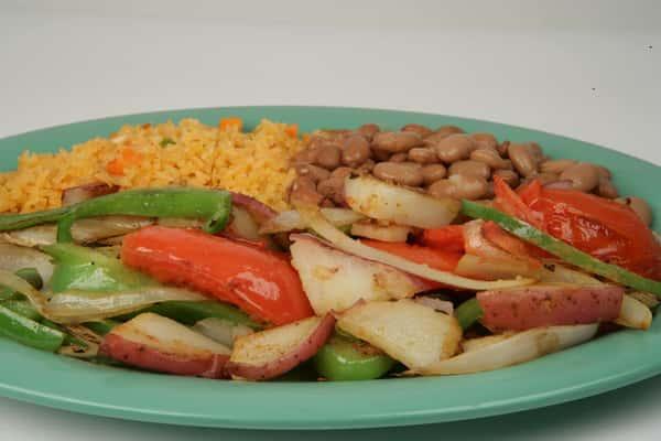 24. Veggie Fajitas