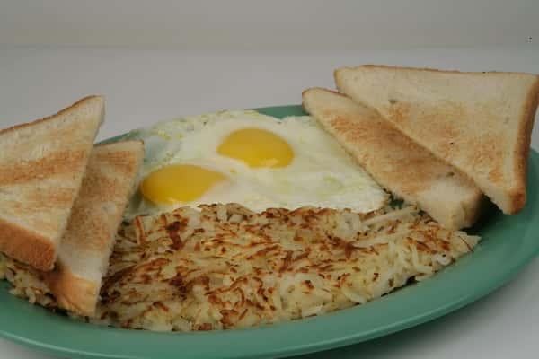 5. Two Egg Breakfast