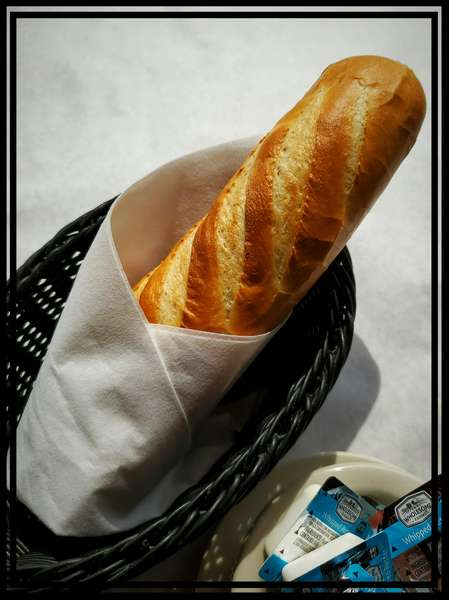 Our fresh made bread.