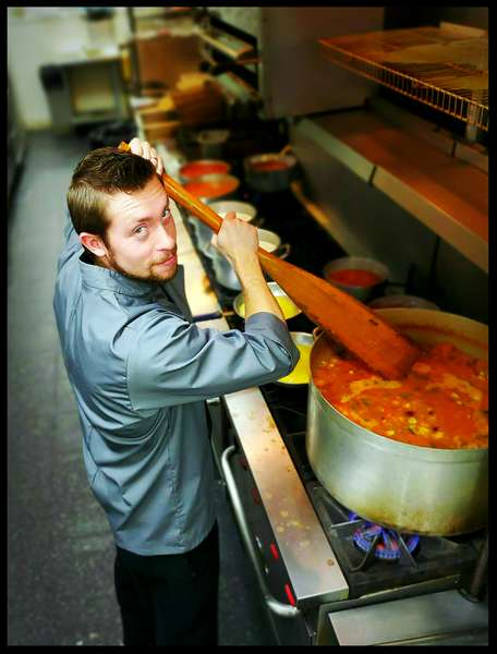 Homemade soups and sauces created by our Chef.