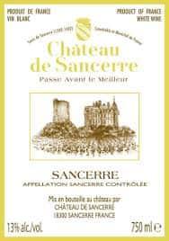 Chateau De Sancerre, Sauvignon Blanc, France