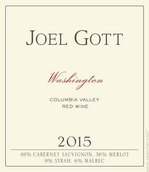 Joel Gott, Meritage Blend, California