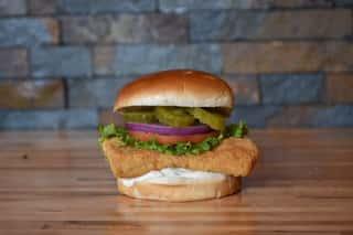 Crispy Fish Sandwich