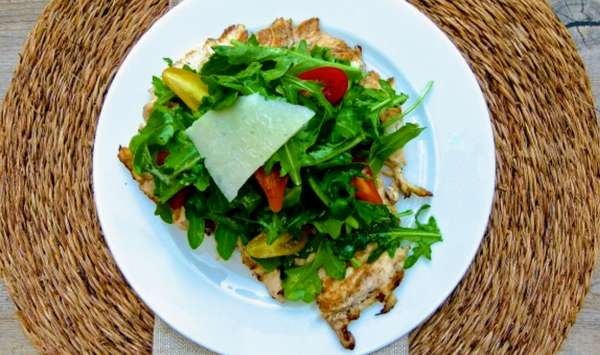 Chicken Paillard Salad