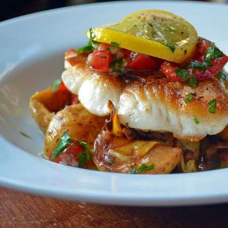 Seared Red Snapper