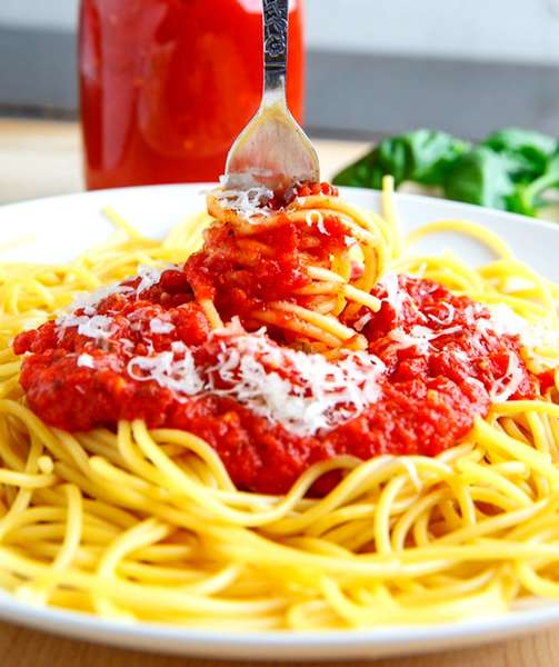 Kids: Spaghetti w/ Marinara Sauce