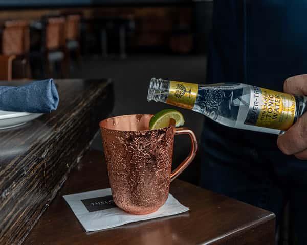 Rum Berry Mule