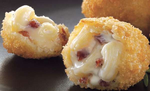 Panko Bacon Cheddar Mac & Cheese Bites (8)