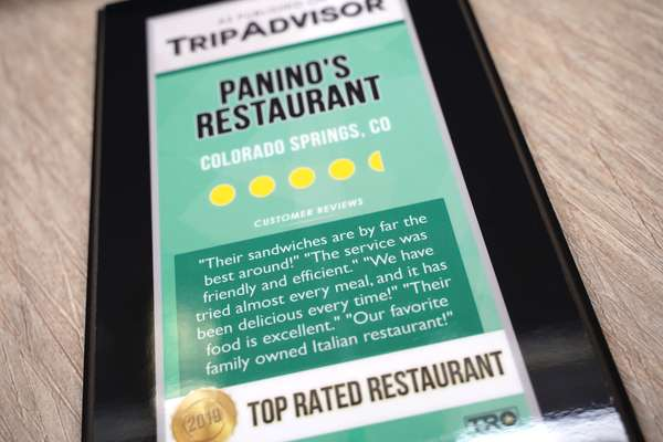 Panino's Restaurant Rating