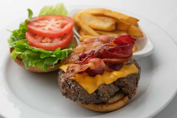 Derby Style Bacon Cheeseburger