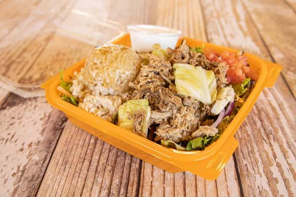 Kalua Pork Salad