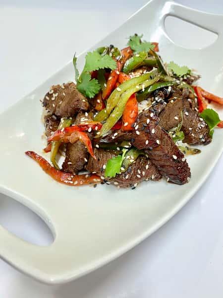 Pepper Steak Stir-Fry