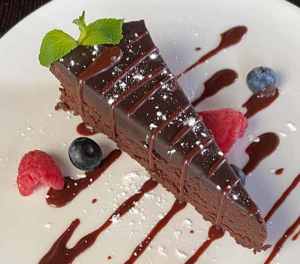 Chocolate Five Spice Cake