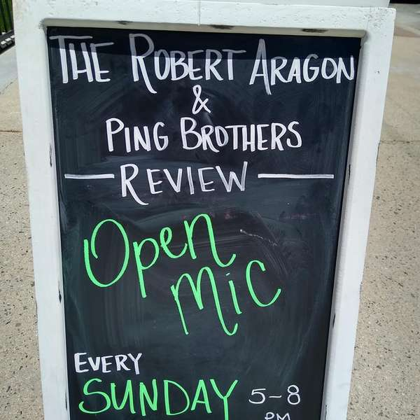 open mic sign