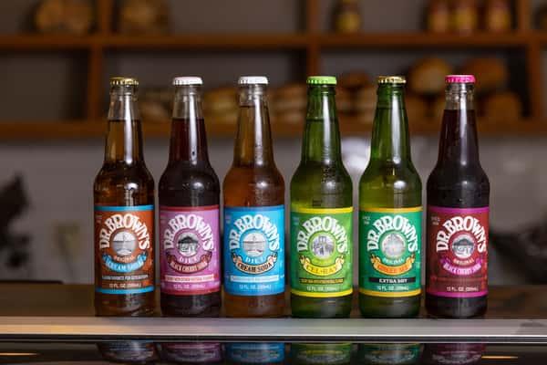 Dr. Brown's Bottled Sodas Diet and Regular