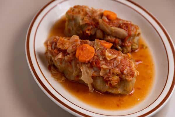 Stuffed Cabbage Plate