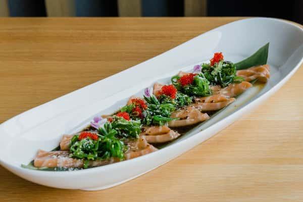 Salmon Carpaccio *