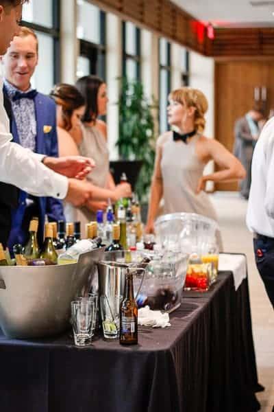 bar reception