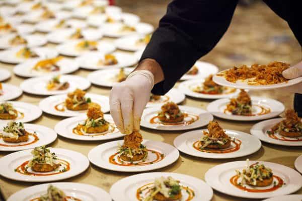 plating foods