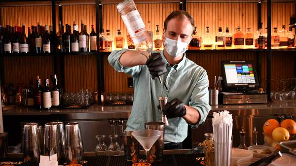 covid bartender