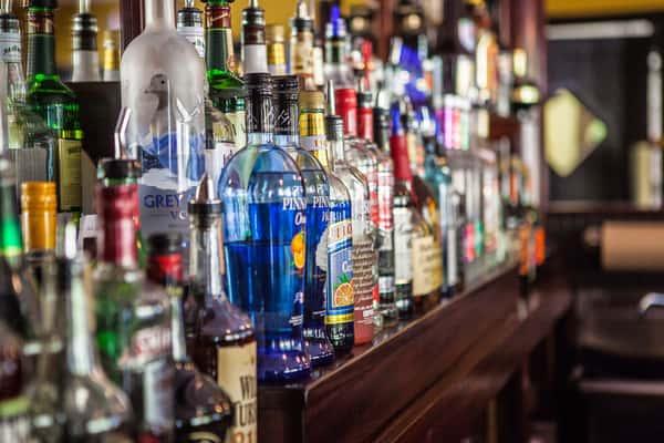 ssorted liquor bottles