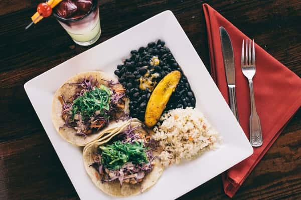 BeachFire Signature Ahi Tacos