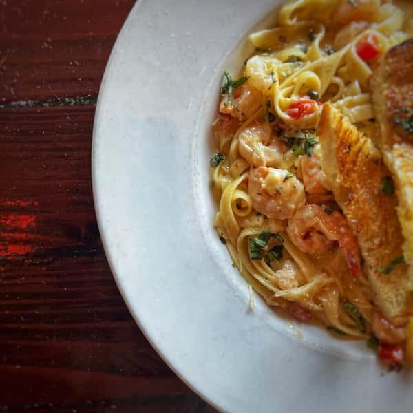 Shrimp & Lobster Linguini