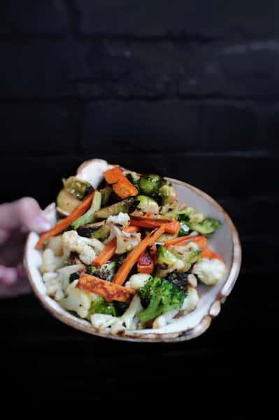 Wood Roasted Vegetables