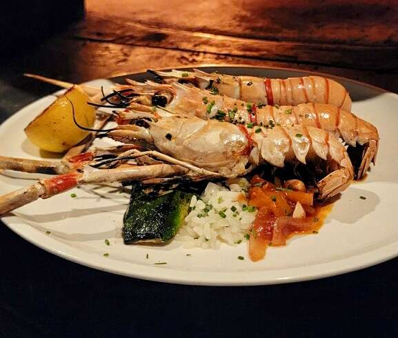 Grilled Whole Langoustines