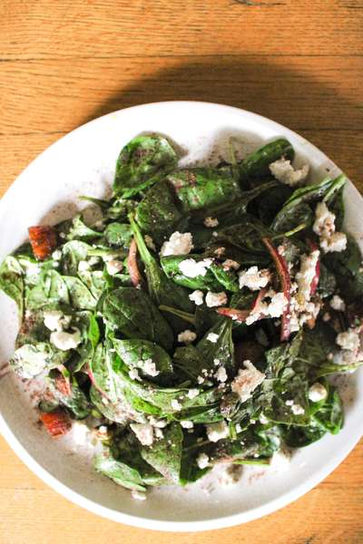 Spinach & Date Salad