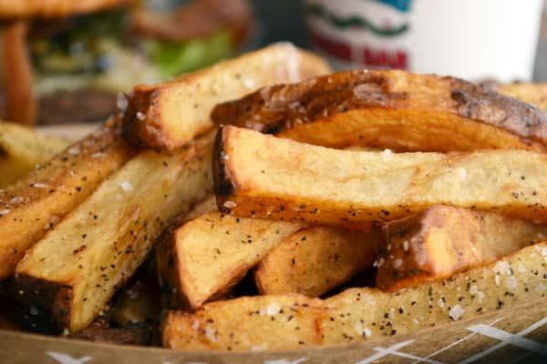 Hand Cut Idaho French Fried Potatoes