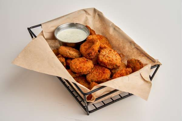 Spicy Fried Pickles