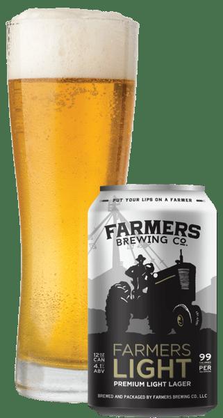 Farmers Premium Light Lager