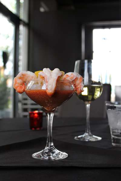 Shrimp Scampi Cocktail