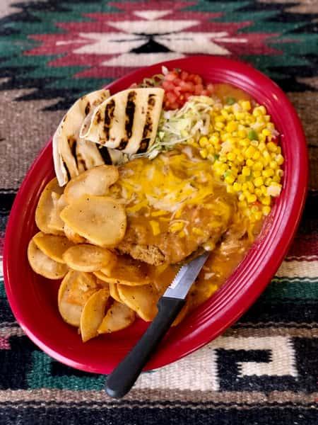 Chicken Fried Steak Mexicanos