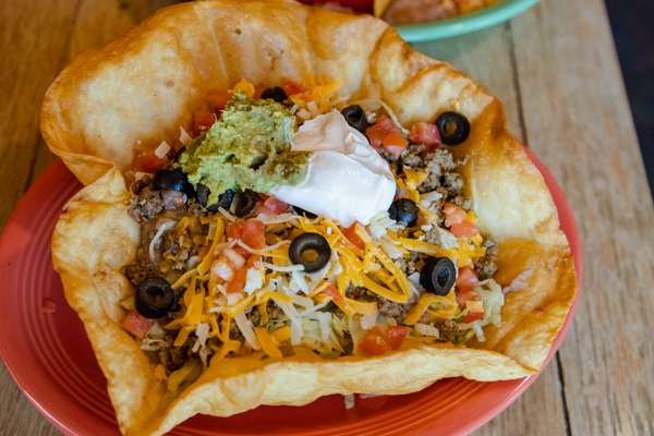 Santa Fe Taco Salad