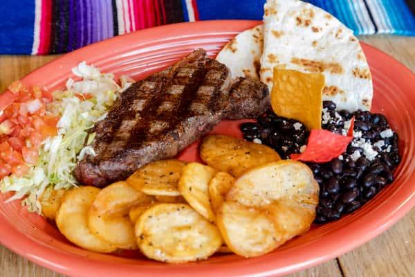 Steak Mexicanos*