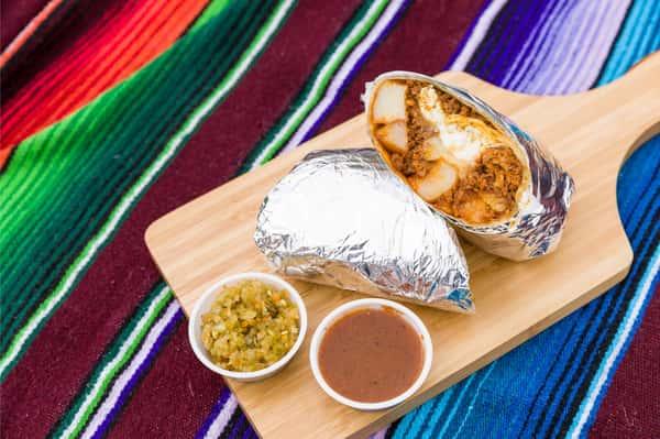 The Chori-Man Breakfast Burrito