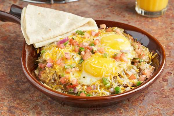 Green Chile Skillet